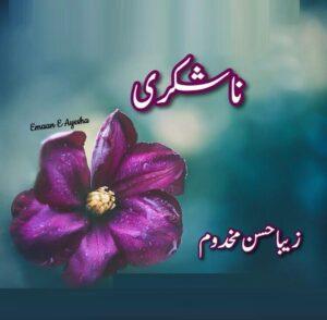 Na Shukri By Zeba Hasan Makhdoom